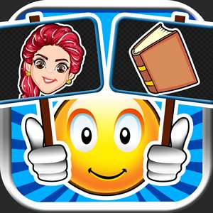 Emoji Guess & Letter Up Icon Pic - find what's the word in this guessing trivia crack pop quiz Hack