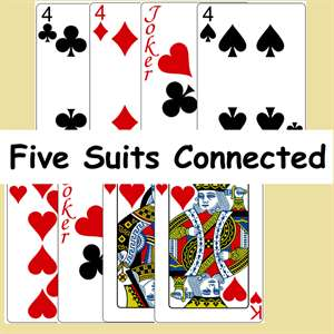 Five Suits Connected Hack