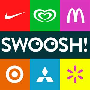 Swoosh! Guess The Logo Quiz Game With a Twist - New Free Logo and Brand Name Word Game by Wubu Hack
