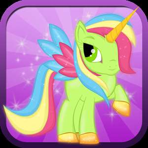Little Magic Unicorn Dash: My Pretty Pony Princess vs Shark Tornado Attack Game - FREE for all! Hack