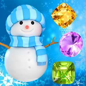 Snowman Games and Christmas Puzzles - Match snow and frozen jewel for this holiday countdown Hack