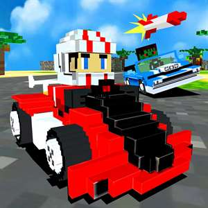 3D Super Block Kart - Blocky Pixel Go-Kart Road Racing Game Pro Hack