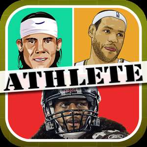 Guess the Athlete Wonder Mania: name who's of the pop sports star in this color quiz word photo icon game Hack