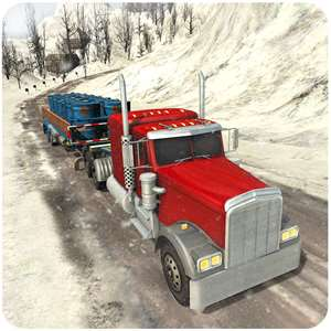 Off-Road Snow Hill Truck 3D - 18 Wheeler Transporter Trailer Simulation Hack