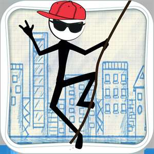 Stick-man Swing Adventure: Tight Rope And Fly Hack
