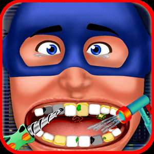 Super Hero Dentist - Little Tongue And Throat X-Ray Doctor Game For Kids Hack