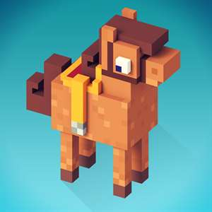 My Blocky Horse Racing: Animal Care Game for Girls Hack