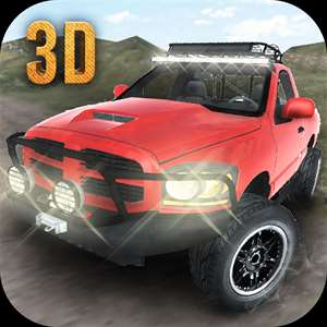 Offroad 4x4 Driving Simulator 3D, Multi level offroad car building and climbing mountains experience Hack