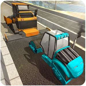 Highway Road Construction - Be A Pro City Builder Hack
