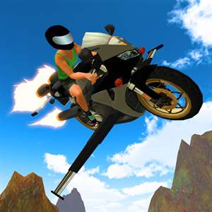 Flying Motorcycle Racing Simulator Hack