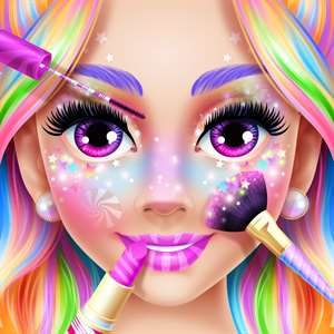 Rainbow Unicorn Candy Salon Hack