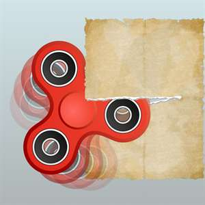 Spinner Clash - Cut the Paper Hack