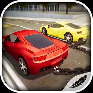 Chained Cars Drag Challenge 3D Hack