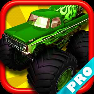 Monster Truck Rider Jam on the Mine Field Dune City 3D PRO - FREE Game Hack