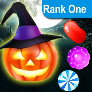 Trick or Treat Heroes - Match yummy candy and swipe halloween sweets to collect magic gems Hack