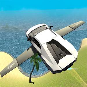 Flying Car Driving Simulator Free: Extreme Muscle Car - Airplane Flight Pilot Hack
