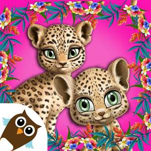 Baby Jungle Animal Hair Salon Hack