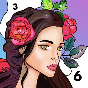 Color by Number - Relax Color Hack